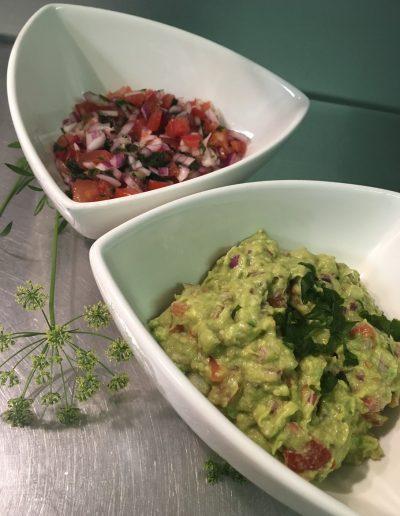 salsa-guacamale